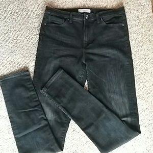 Black Banana Republic HighWaisted Skinny Jeans 31L
